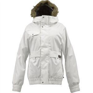 Burton-Tabloid-Snowboard-Jacket-M-Bright-White