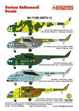 Techmod Decals 1/72 MIL Mi-17 (Mi-8MTV-1) Russian Attack Helicopter