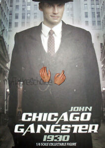DID Pistol CHICAGO GANGSTER JOHN 1930 1//6 ACTION FIGURE TOYS