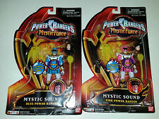 Power Rangers Mystic Force PINK BLUE Figure Lot Sound Sentai MAGIRANGER Gokaiger