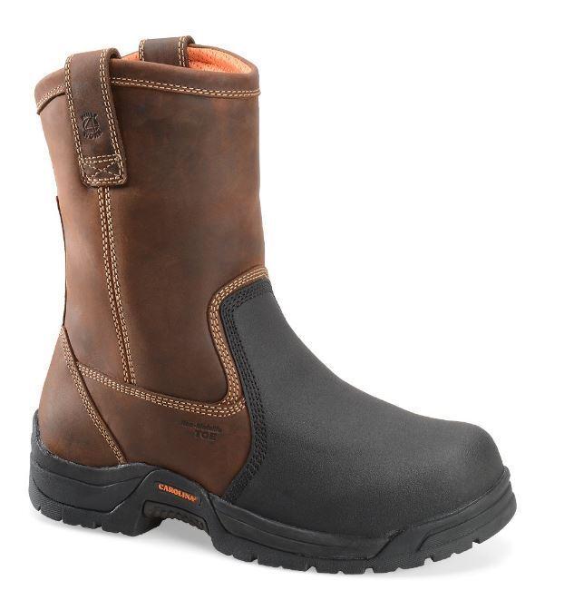 Carolina Well X Men's EH Composite Toe Met Guard Wellington Work Boot CA4582