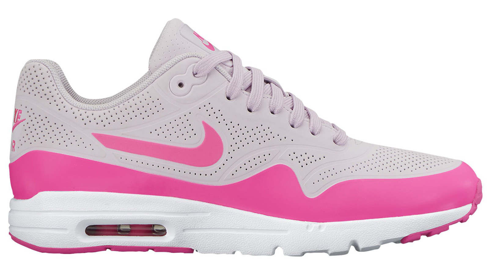 NEW Femme Nike Air Max 1 Ultra Chaussures Taille: 5 Color: Rose/Gris
