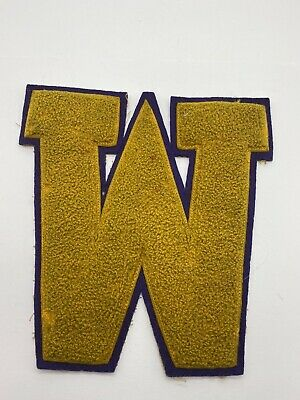 "San Jose Sharks Chenille Letter Varsity Jacket Patch 6 3//4/"" H x 5 1//2 /"" W sew on"
