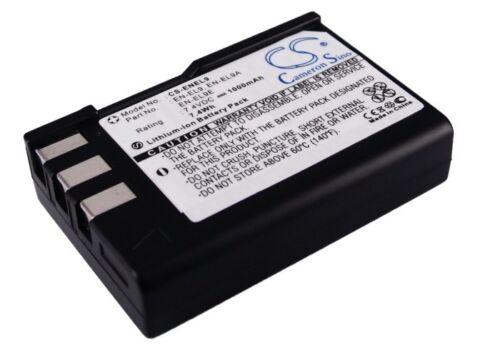 D40 Dslr-D40A D40C D5000 Dslr-D40 D60 D40A Batería para Nikon D3000 D40X
