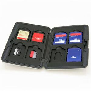16-Slots-Micro-Card-Holder-XC-Card-Case-Storage-Memory-Protector-Aluminum