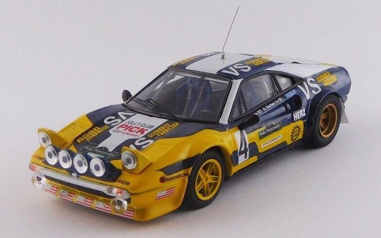 MODEL BEST 9716 - Ferrari 308 GTB  GR.4 1er Rally Piancavallo - 1980   1 43  en bonne santé
