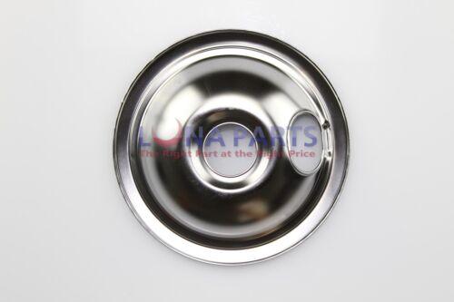 """Amana Litton Stove Range 6/"""" Chrome Drip Pan Bowl 51294P01 M44D7 M44D11 M44D10"""