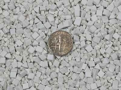 6 mm X 6 mm Polishing Triangles Non-Abrasive Ceramic Tumbling Tumbler Tumble Media 10 Lb
