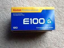 5 rolls KODAK E100 G Kodak Professional EKTACHROME transparency 120 fine Grain