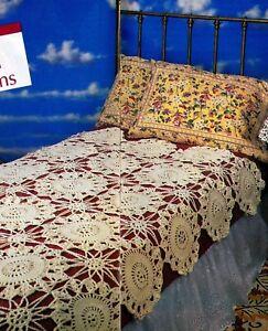 Elegant Wedding Blanket Afghancrochet Pattern Instructions Only Ebay