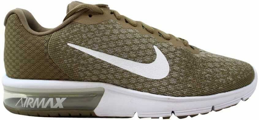 6d9b7be8f0 Air Max Sequent 2 Khaki White-String 852461-200 Men's SZ 9 Nike nchern5056-Athletic  Shoes