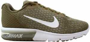 best authentic eeadf c025c Image is loading Nike-Air-Max-Sequent-2-Khaki-White-String-
