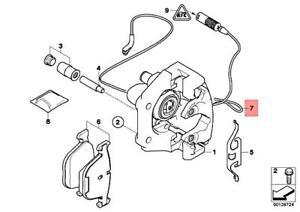 Genuine BMW Disc Brake Pad Wear Sensor Rear OEM 34356778038