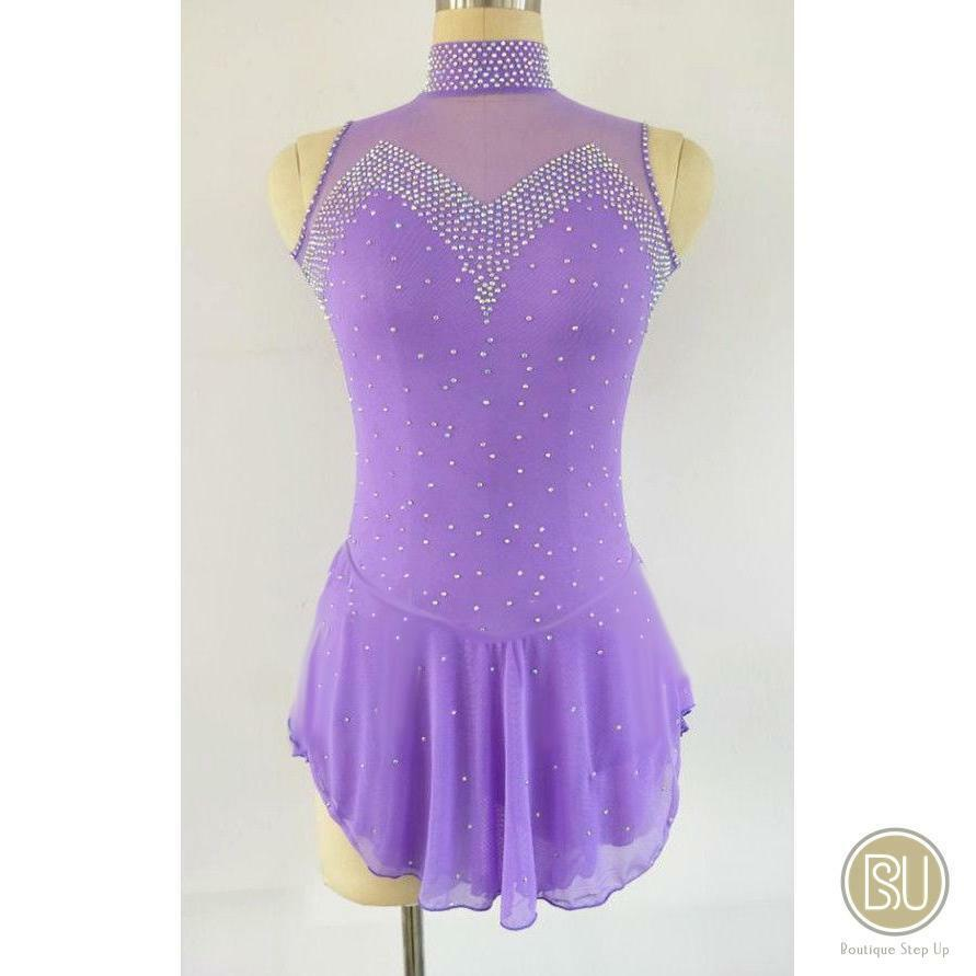 Competition Figure Skating Kleid Available in 10 Farbes Sleeveless