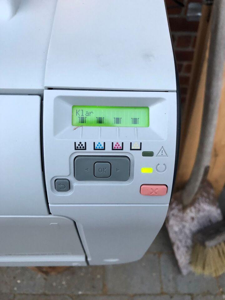 Laserprinter, m. farve, HP
