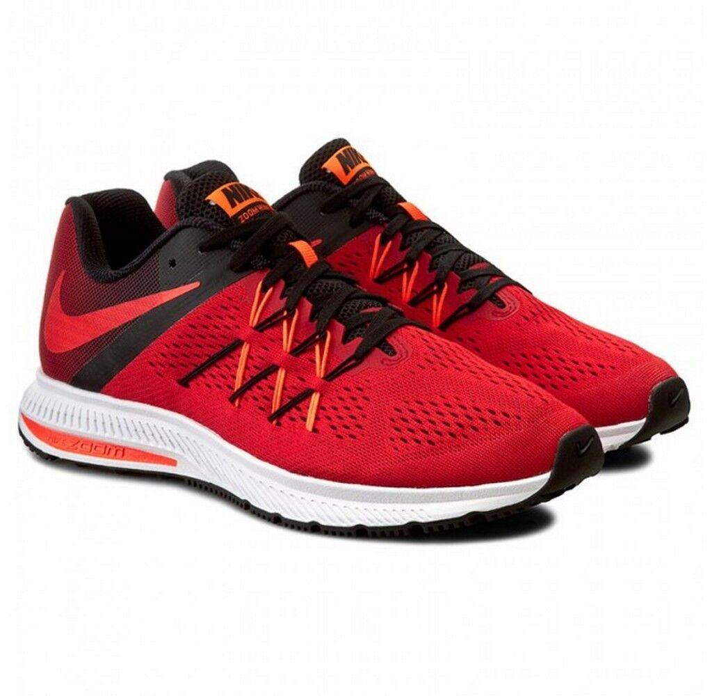 Nike Nike Nike Zoom Winflo 3 University Red Total Crimson Black White 831561 601 85736b