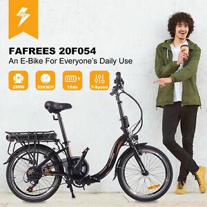 20 Zoll Elektrofahrrad Klappbar Fahrrad E-bike Ebike 250W Shimano 36V Akku 10AH