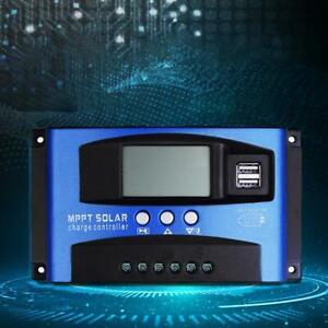 30A//40A//50A//60A//100A Batterie Solaire Panneau Contrôleur de Charge Régulateur