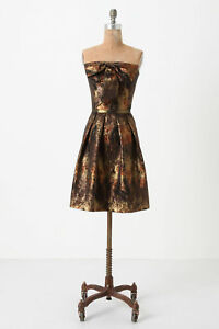 Anthropologie-Dress-Party-Evening-Cocktail-Beach-Summer-By-Eva-Franco-6-amp-8