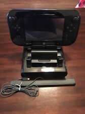 Nintendo WUP-101(02) Black Wii U 32GB Game Console System Great Shape!!