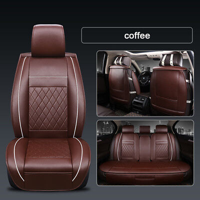 Black Rear Waterproof Car Seat Cover Protector For VOLVO XC40 17-ON
