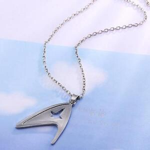Star-Trek-Sliver-Jewelry-Stainless-Metal-Chain-Cosplay-Decoration-Necklace
