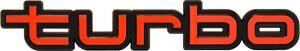 Auto-KFZ-Relief-3D-Emblem-turbo-Schild-18-cm-selbstklebend-HR-Art-14556