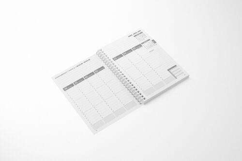 Wochenplaner Terminkalender Planer 2020 Triange Shapes Spiralbindung DIN A5