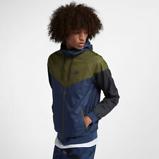 a992a4546327 item 2 Nike Sportswear Windrunner Men s Jacket XL Blue Green Full ZIp Hoodie  New -Nike Sportswear Windrunner Men s Jacket XL Blue Green Full ZIp Hoodie  New