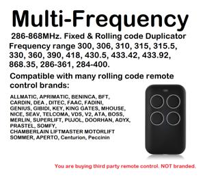 RéAliste Multi-fréquence Fixe & Rolling Code Remote Control Duplicator 280-868 Mhz.-y Fixed & Rolling Code Remote Control Duplicator 280-868mhz. Fr-fr Afficher Le Titre D'origine