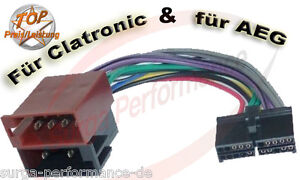 AEG-PROLOGY-CLATRONIC-Autoradio-Kabel-Adapter-ISO-PROLOGY-Xomax-XM-DTSB-904