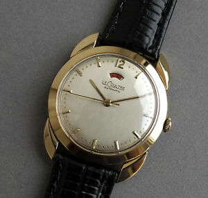 Jaeger-LeCoultre-Powermatic-14k-Solid-Gold-automatic-gents-watch-1951