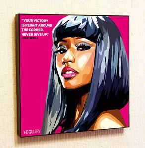 Nicki-Minaj-Music-Painting-Decor-Print-Wall-Art-Poster-Pop-Canvas