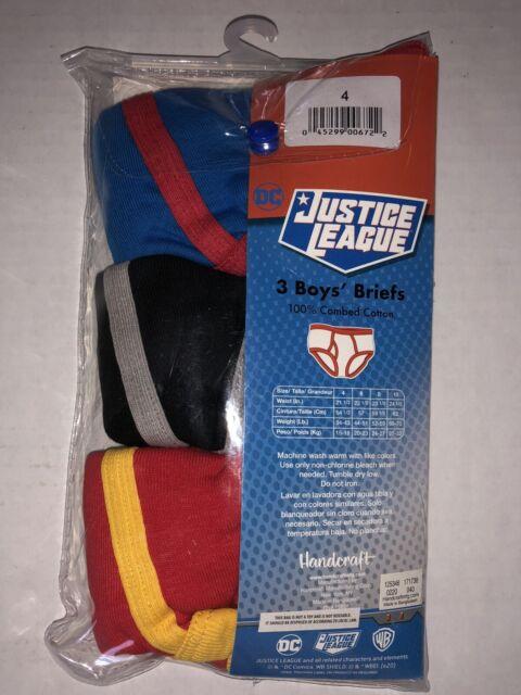 Fille Ex Store 3 Pack Justice League Briefs