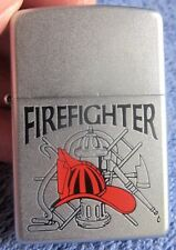 FIREMAN HELMET TOOLS American Heroes FIREFIGHTER Emblem CHROME ZIPPO Lighter NEW