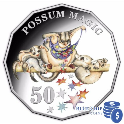 2018 50c Possum Magic Proof Coin Only from Ex-Proof Set