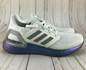 Details about adidas Ultraboost 20 Running Shoes ISS National Lab Grey Women EG1369 Choose Sz
