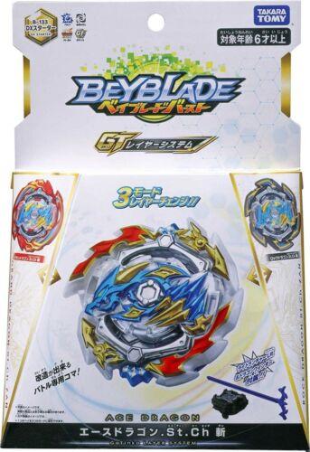 TAKARA TOMY Ace Rock Grand Dragon Beyblade Burst GT Starter w// Launcher B-133