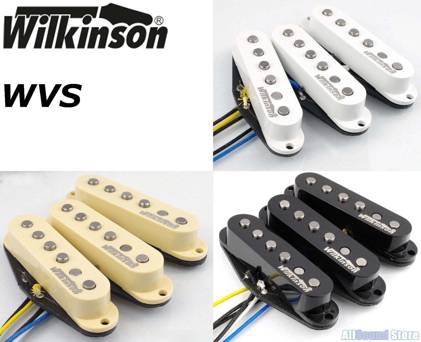 Wilkinson Premium 60's WVS Alnico V Single Coil Guitar Pickups for Stratocaster