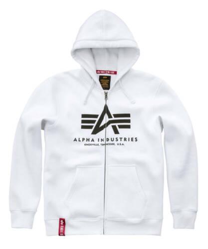 Alpha Industries Basic Zip Hoody Herren Kapuzenjacke Sweatjacke Jacke 178325