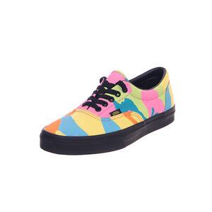 838b6aeb06466 Image is loading Vans-Sneakers-Ua-Era-Neon-Camo-Multicolour