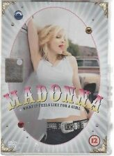 MADONNA WHAT IT FEELS LIKE FOR A GIRL DVD SINGLE SIGILLATO!!!
