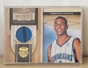CHRIS PAUL Panini 09/10 Hardwood Heroes Jersey Court Kings Hornets #17 (180/299)