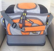 Gift Idea Fisherman PLANO Fishing Tackle Bag with 4 Utility Lures Storage Boxes