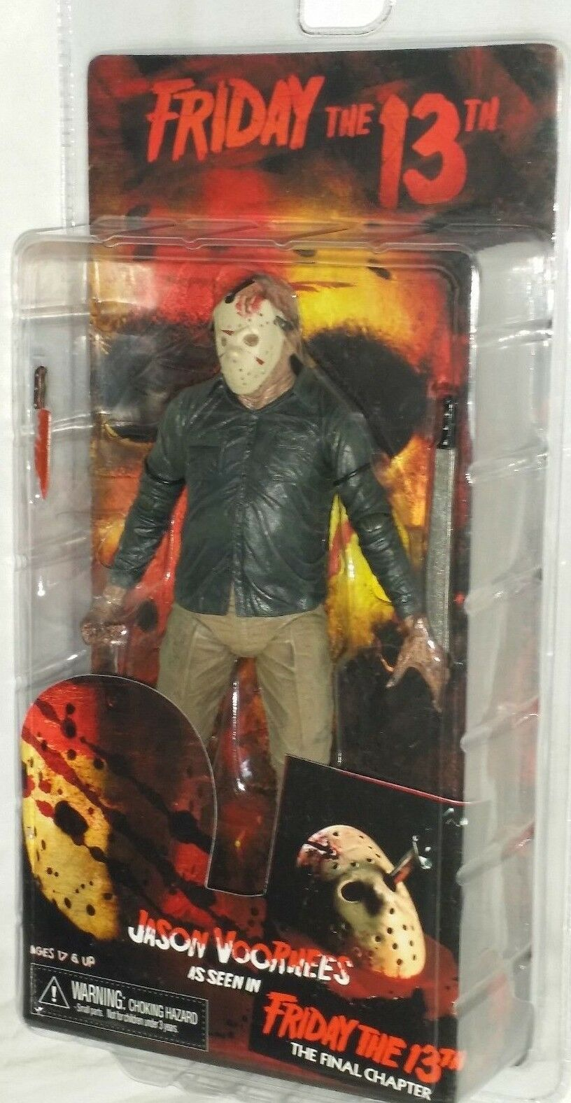 MIP NECA Friday 13th JASON VOORHEES Final Chapter 7