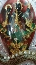 Narai Ride Krut Naka Lp Goy Wat Klang Thai Amulet Bronze Protection BE 2552
