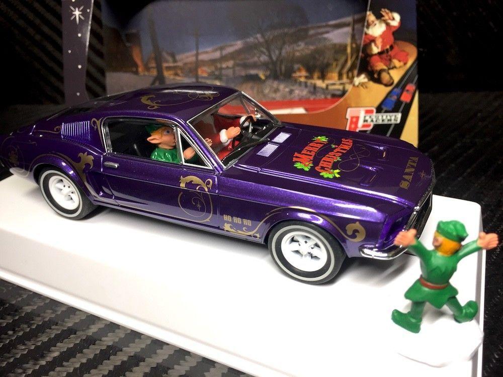P073 Pioneer Mustang 390 GT Santa's 'Stang 2018 Sugarplum Purple metallic LE of