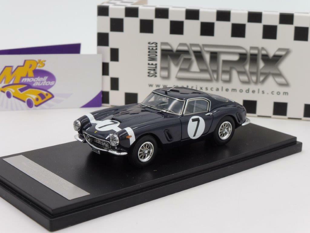 Matrix 40604-011 - Ferrari 250 GT Passo Carto No. 7 Winner RAC TT 1960 1 43 NEU  | Hohe Qualität und günstig