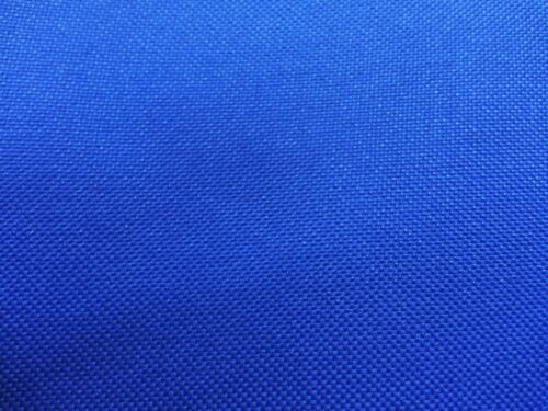 WATERPROOF HEAVY ROYAL BLUE CANVAS FABRIC 1000D PU BACK x 3.5MTR