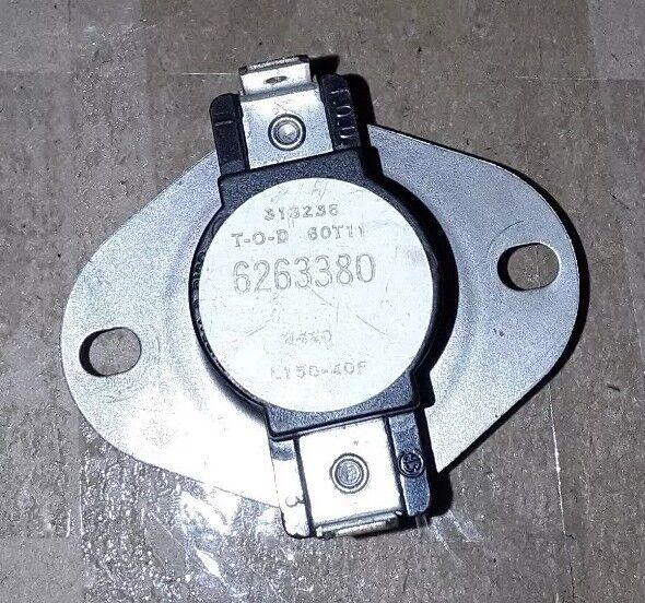 Nordyne 626338R Limit Switch; L150-40F